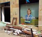La explosión, en plenas fiestas de Puente, afectó al edificio de enfrente