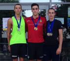 Medallas navarras en los Campeonatos de España infantiles