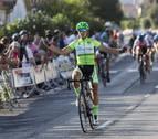 Una victoria de sangre fría en la primera etapa de la Vuelta a Pamplona