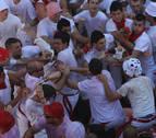 Las lesiones y riñas tumultuarias crecen un 47% en Pamplona en 2017