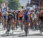 Trentin gana al sprint la segunda etapa de Burgos