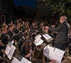 La banda de música lanzará el cohete de fiestas de Estella en su 25 aniversario