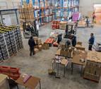 El Banco de Alimentos de Navarra evita el desperdicio  de 3.000 toneladas de comida