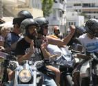 Ibiza despide a Ángel Nieto en un emotivo funeral acompañado de 500 motos