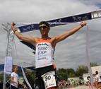 Éxito en el triatlón olímpico