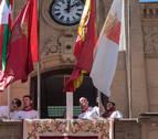 La Delegación denuncia a Bera y Olazagutia por poner la ikurriña