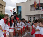 El deporte protagonizó el cohete de fiestas en Sartaguda