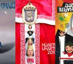 Huarte elige tres carteles para que los vecinos voten el que anunciará las fiestas