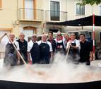 Las comidas populares, una cita 'sagrada' en Fustiñana