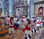 La calle y la parroquia de San Lorenzo de Pamplona celebran hoy su festividad