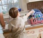 La mitad de los niños en Navarra cree que las tareas de casa