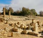 La ciudad de las ruinas anónimas en Navarra