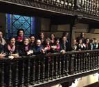 Concierto del coro Enara este domingo en el Fortín de San Bartolomé de Pamplona