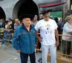 Leitza reconoce a Bildarraz y Astibia, veteranos aizkolaris