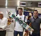 Javi García llega a Sevilla para cerrar su fichaje por el Betis