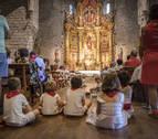 Devoción y tradición se conjuran en Aoiz