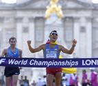 Eder Arévalo logra el oro en los 20 km. marcha