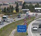 Crece el tráfico de la AP-15 pero aún la usan 4.500 vehículos menos que en 2008