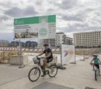 Pamplona retoma las obras paralizadas de la plaza de Lezkairu