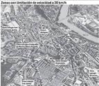 Tudela limitará a 20 km/h el Casco Viejo y los alrededores de colegios