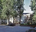 El primer huerto urbano ecológico en el centro de Pamplona da sus primeros brotes verdes