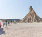 De turismo por Navarra: Las Bardenas Reales, un desierto esculpido