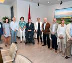Barkos y el patronato de la Fundación Caja Navarra, con voluntad de colaborar