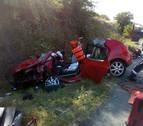 Un conductor bebido se duerme y causa 6 heridos, 3 niñas, en Tiebas