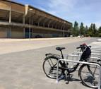 Pamplona estrena 120 plazas de aparcamiento para bicis junto al estadio El Sadar
