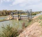 Regantes de 6 localidades riberas piden agua del Canal de Navarra
