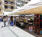 El mercado agroalimentario de Estella interesa a 30 productores