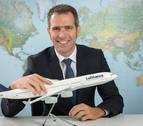 """Director de Lufthansa: """"Hemos llegado al aeropuerto de Noáin para quedarnos"""""""
