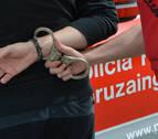 Detenido en Caparroso tras agredir a su mujer en el rostro en presencia de los hijos