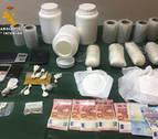 Desmantelado un laboratorio de anfetamina que suministraba en Navarra