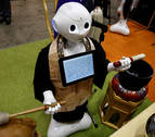 Robots destinados a sustituir a los humanos dominan el Robot World 2017