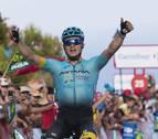 Lutsenko gana en Santa Lucía y Froome refuerza el liderato