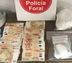 Le detienen por violencia de género en Olite y descubren que traficaba con droga
