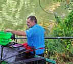 El puente del Plazaola, cebo para pescadores