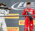 Hamilton vence en Spa y recorta distancias con Vettel