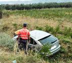 Un conductor herido en un accidente en Funes da positivo en alcohol y drogas