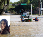 "Pamplonesa afectada por el huracán en Houston: ""No he vivido nada parecido"""