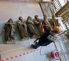 Se prolongan las visitas guiadas a las obras del claustro de la Catedral