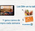 Leyendo cada día DN+ Tablet puedes ganar tu compra gratis en E.Leclerc