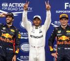 Hamilton bate el récord de 'poles' de Schumacher y saldrá primero en Monza