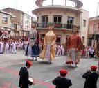Jotas y bailes para el patrón de Milagro