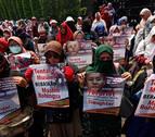 Casi 90.000 rohinyás huyen por la violencia a Bangladesh en los últimos días