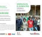Lanzan una campaña para promocionar el aprendizaje de euskera en adultos