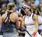 Muguruza pierde en el Abierto de EEUU frente a la checa Kvitova