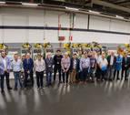 VW Navarra dona doce robots a centros de FP