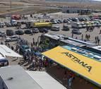 Casi 10.000 personas pasaron por el Circuito de Navarra para ver La Vuelta
